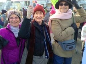 women's march 3 women